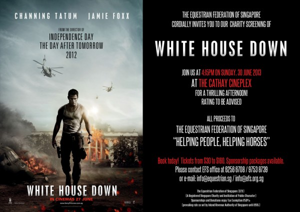 White House Down Postcard