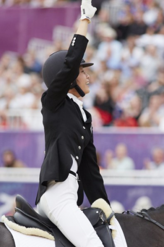 FEI Solidarity Ambassador and Paralympic star Laurentia Tan (SIN) has been elected as Athlete Representative for Para-Equestrian. (Photo: Liz Gregg/FEI)